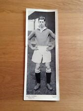 """Peter O'Dowd, Chelsea FC, Topical Times, 1930s Football, VG, 9.5"""" x 3.5"""""""