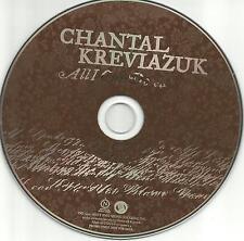 CHANTAL KREVIAZUK Al I Can do 2007 USA PROMO Radio DJ CD single MINT