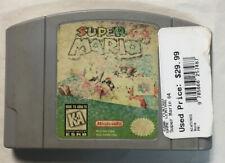 Super Mario 64 Video Game Cartridge Version For Nintendo N64 Tested