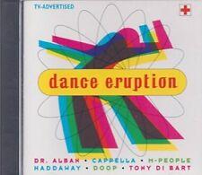 Dance Eruption (1994) Dr. Alban, Haddaway, M-People, R. Kelly, Jazzy Jeff.. [CD]