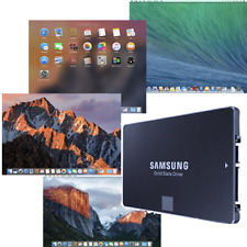 New SSD pre-loaded Mac OS for system upgrade/repair (Samsung or similar quality)