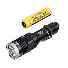 Nitecore P16 Tac 1000 Lumens Flashlight -CREE XM-L2 U3 w/3400mAh Battery