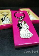 12 Wedding Favors Key Chain Bridal Shower Event Favours Keychains Lot