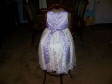 Melody Kids ~ Lavender Bodice & White Skirt ~ Special Occasion Girls Dress