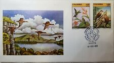 L) 1985 COLOMBIA, CONSERVATION OF WILDLIFE, BIRDS, NATURE, FAUNA, COLIBRI, LANDS