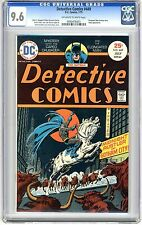 Detective Comics  #449  CGC  9.6  NM+  Off - wht to wht  pgs 7/75  Elongated Man