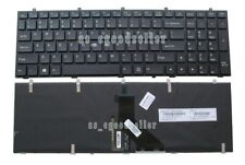 NEW FOR Clevo N857HC N870HC N850HN N870HZ N850HK keyboard White backlit US