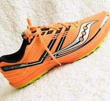 Saucony Mens Shoes Size 9 Kilkenny XC7 Cross Country Track S29041-2 Neon Orange