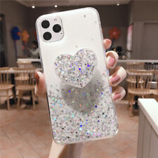 Bling Cute Heart Kickstand Slim Case Cover For iPhone 11 Pro Max XR 8 7 6s Plus