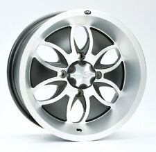 ATV UTV Alloy Wheel Rim 14x7, 4/110 PCD, 5+2 offset, ITP System 6 Alloy finish