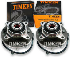 Timken Front Wheel Bearing & Hub Assembly for 2005-2009 Ford F-150 Pair Left tb
