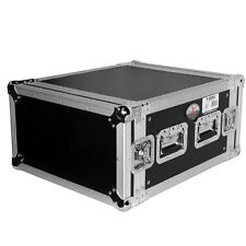"ProX 6U Space Heavy Duty Amp Rack Mount ATA Flight Road Case, 19"" Depth T-6RSS"
