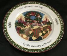 Susan Winget  Dinner Plate China  A Christmas Story  Stockings Were Hung
