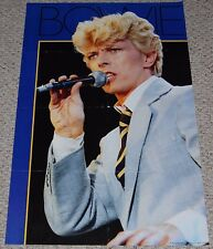 David Bowie Let's Dance Tour In Concert Poster 1984 Bi-Rite 15-293