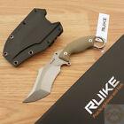 """RUIKE F181 Knife 4.5"""" 14C28N Sandvik Steel Full Tang Blade Sculpted G10 Handle"""