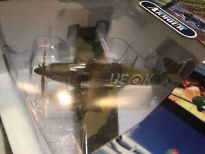 Franklin Mint 1:48 Hawker Hurricane, 601 Squadron, Billy Fiske, No. B11E065