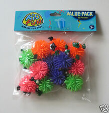12 Monster Wooly Balls Pinata Prize Toy Kid Party Goody Loot Bag Favor Supply