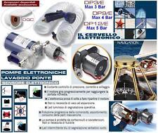 POMPA MARINA ELETTRONICA 4Bar 12V-24V TUBO+PISTOLA LAVAGGIO PONTE BARCA DP9/E