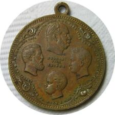 elf Germany Prussia Medal Wilhelm I and His Princes