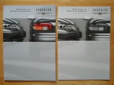 CHRYSLER STRATUS Sedan & Cabriolet 2000 year Swiss Mkt Sales & Specs Brochures
