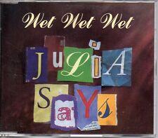 ★ MAXI CD WET WET WETJulia says 4-track jewel case - Australia - ★