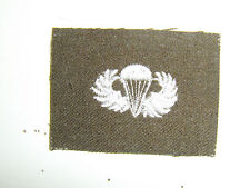 b0436 WW2 US Army Paratrooper Wings OD Wool Officer EM Jump Airborne PIR A8A17