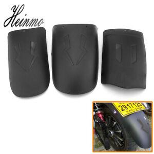Universal Motorcycle Rear Tire Wheel Cover Fender Mudguard Splash Guard Plastic