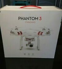 DJI Phantom 3 Standard Quadcopter Camera Drone - White for parts