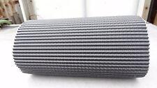 Blei Wandanschlussband Kaminband Waffel 3D ANTHRAZIT selbstklebend 100cmx30cm