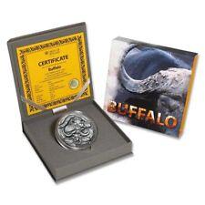 Rare 2014 Niue 4 oz Sliver Water Buffalo-Box