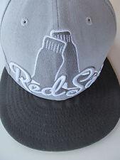 Boston red Sox flat brim cap - 59 fifty - New Era - size 6 7/8 - grey