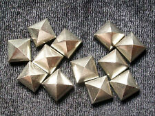 GOLDEN PYRITE PYRAMID 8MM  5PC WONDERFUL QUALITY AAA