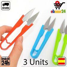 3 Tijeras de Costurera diseño bordado tijeras corta hilos pequeña coser *Envío G