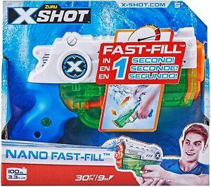 Zuru X-Shot Nano Fast-Fill Water Blaster Brand New