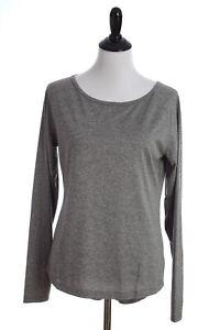 Mizuno Inspire 2.0 Long Sleeve Drylite Athletic Shirt Womens Medium Gray