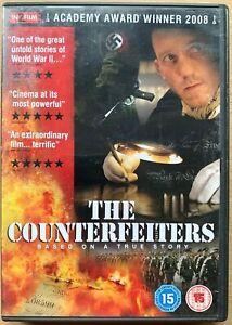 The Counterfeiters DVD 2006 Oscar-Winning German World War II Holocaust Drama