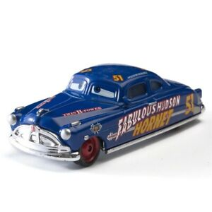 Disney Pixar Cars Fabulous Hudson Hornet Sally 1:55 Diecast Toy Car Kids Gift