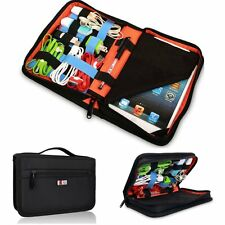 BUBM iPad Mini Electronic Accessories USB Cable Charger Storage Bag Organizer