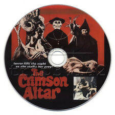 Curse of the Crimson Altar (1968) Boris Karloff, Christopher Lee Horror Film DVD