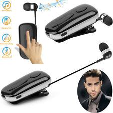 Wireless Bluetooth Headphone Handsfree Call Headset Clip Earpiece For iPhone HTC