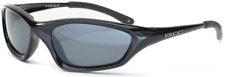 BLOC COBRA P105 Mens/Womens POLARISED Sunglasses SHINY BLACK / GREY CAT.3