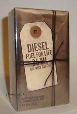 DIESEL FUEL FOR LIFE POUR HOMME MEN PERFUME EDT SPRAY 30 ML / 1 FL OZ SEALED BOX