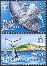 Pitcairn Islands 2006 Humpback Whales/Animals/Marine/Nature 2v set (n16808)