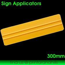 Vinyl Car Wrap Applicator Soft Plastic Edge Squeegee Tool - 300mm