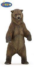 Papo 50153 Oso Pardo 12 cm animales salvajes