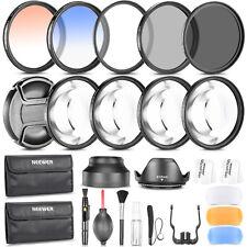Neewer Pro 58mm Filter Accessory Kit for Canon 700D 650D 600D 550D 500D 450D