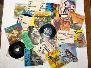 LOTTO dischi vinile musica popolare curiosi sacri rari 45 giri - AFFARE