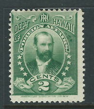 Hawaii #O1, 2 cent Official *H