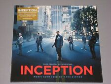INCEPTION soundtrack LP Hans Zimmer featuring Johnny Marr Clear Vinyl New