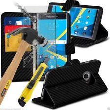 Fundas y carcasas lisos de piel sintética para teléfonos móviles y PDAs BlackBerry